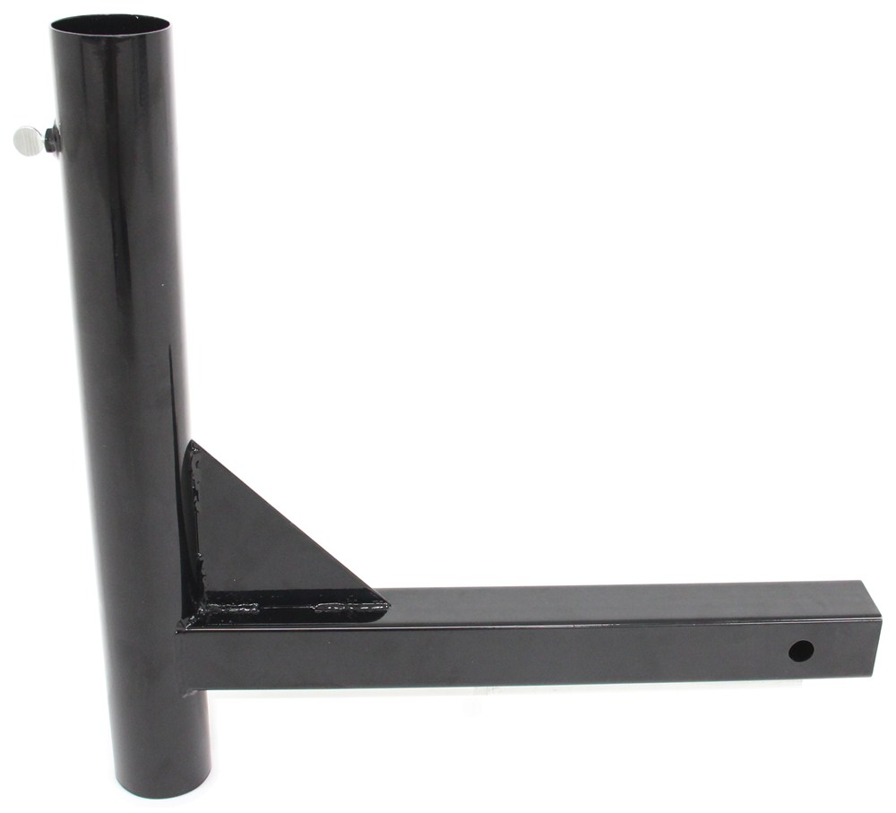 Camco Hitch Mounted Flagpole Holder For 2 Hitch Receivers Camco Patio Accessories Cam51611