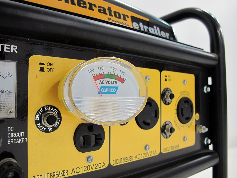 Camco PowerGrip 120V Meter Easy to Install and Use 55263 Provides Continuous and Accurate Reading of Your AC Line Voltage