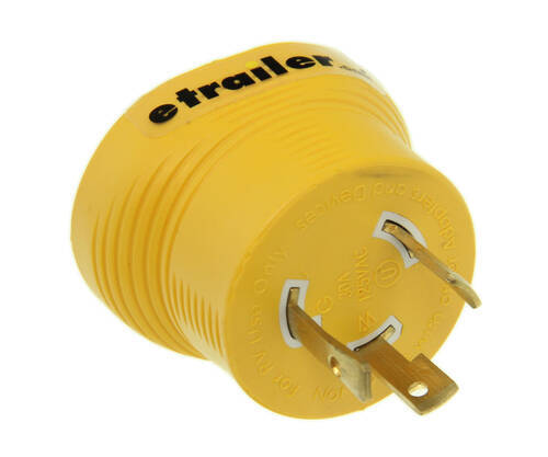 Generator Plug Adapters CAM55333 - Plug Only - Camco