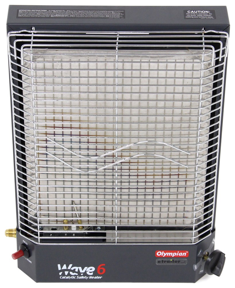 Camco Olympian Wave 6 Catalytic Safety Heater for Mid-Sized RVs CAM57341