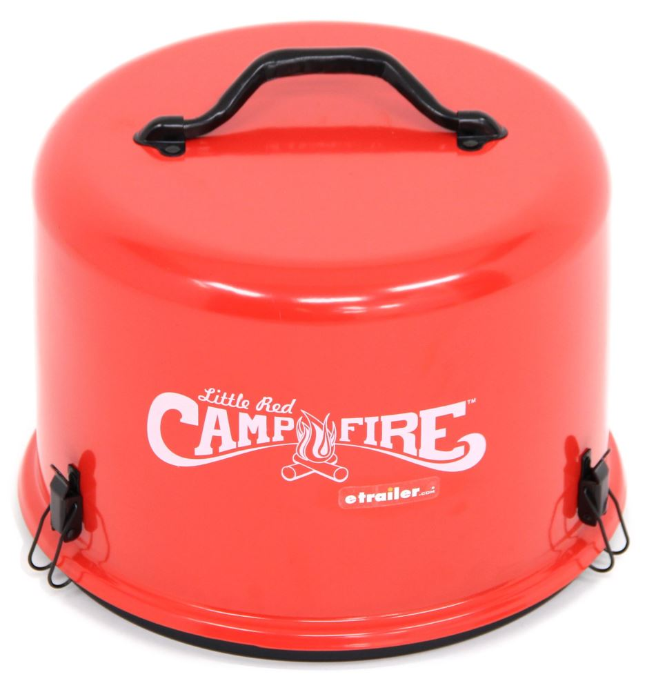 Little Red Campfire Portable Gas Campfire Camco Portable Grills And Fire Pits Cam58031
