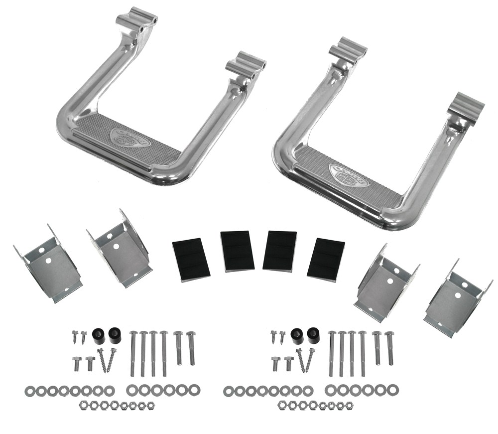 CARR104502 - Fixed Step Carr Nerf Bars - Running Boards
