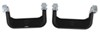 "Carr Custom-Fit Side Steps - Super Hoop - Black Powder Coated Aluminum - 17"" Step - 1 Pair Black CARR124501"