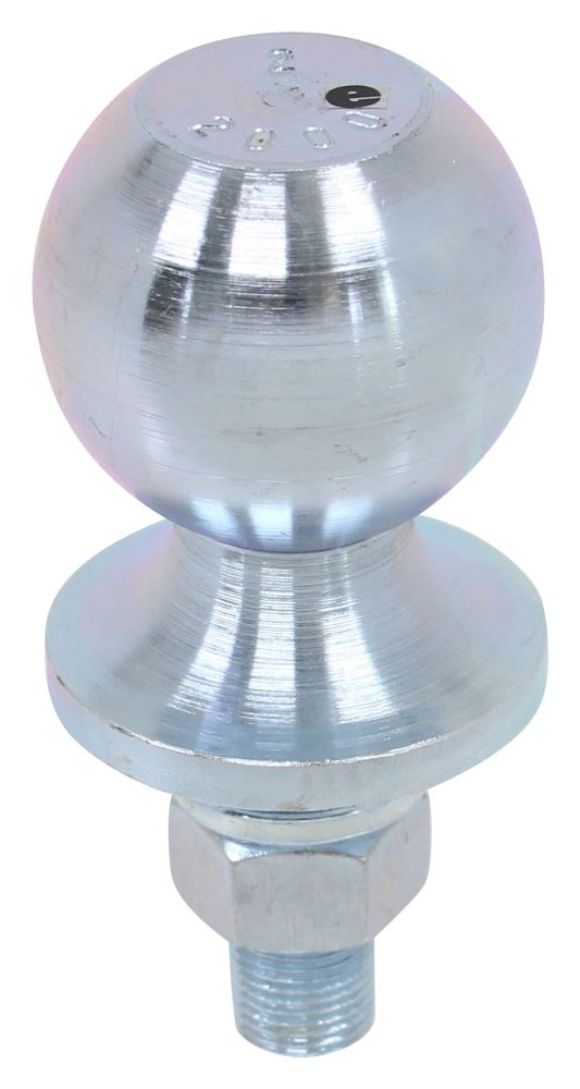 """2"""" Hitch Ball - 5/8"""" Diameter x 1-5/8"""" Long Shank - Steel 2 Inch Diameter Ball CB-20Z"""