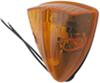 Truck Clearance and Cab Marker Light - Weatherproof - Incandescent - Triangle - Amber Lens Triangle CB20AB