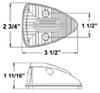 Trailer Lights CB20AB - Rear Clearance,Side Marker - Optronics