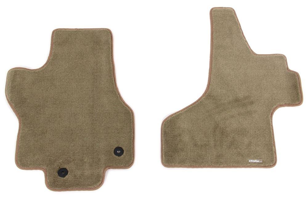 Covercraft Premier Custom Auto Floor Mats - Carpeted - Front - Beige Beige CC76335123