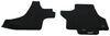Covercraft Premier Custom Auto Floor Mats - Carpeted - Front - Black Flat CC76335125