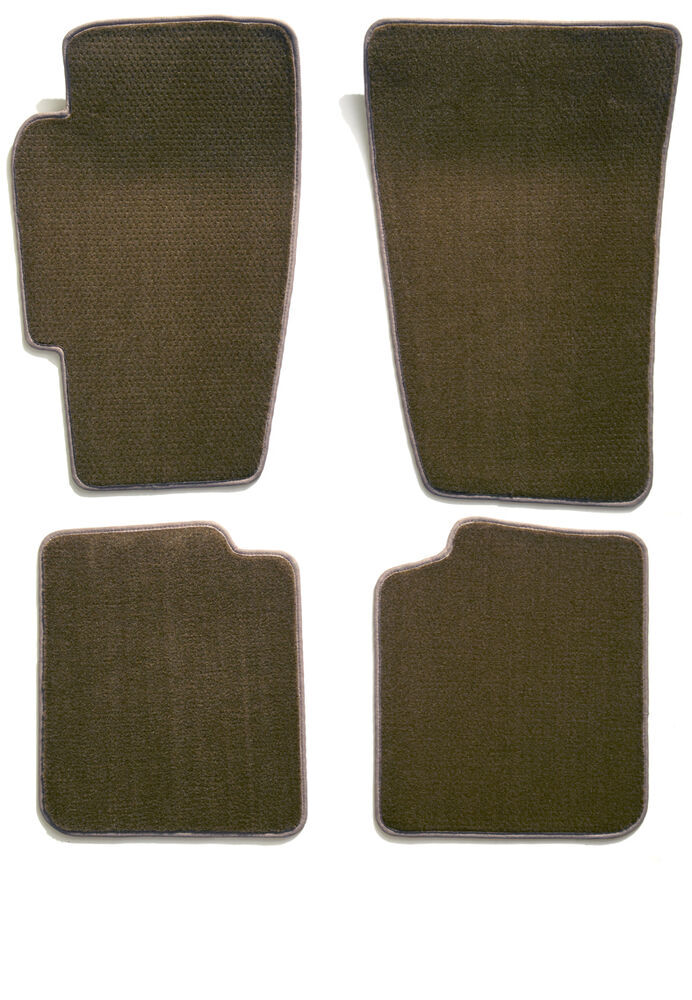Covercraft Premier Custom Auto Floor Mats - Carpeted - Front and Rear - Driftwood Carpet CC76177281