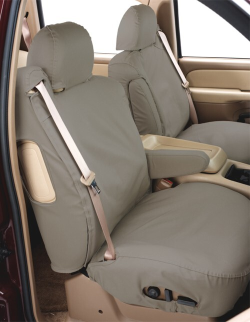 Covercraft SeatSaver Custom Seat Covers - Front - Misty Gray Cloth SS3441PCCT