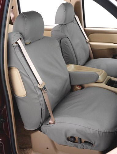 Brown Covercraft Carhartt SeatSaver Second Row Custom Fit Seat Cover for Select Ford Escape Models Duck Weave