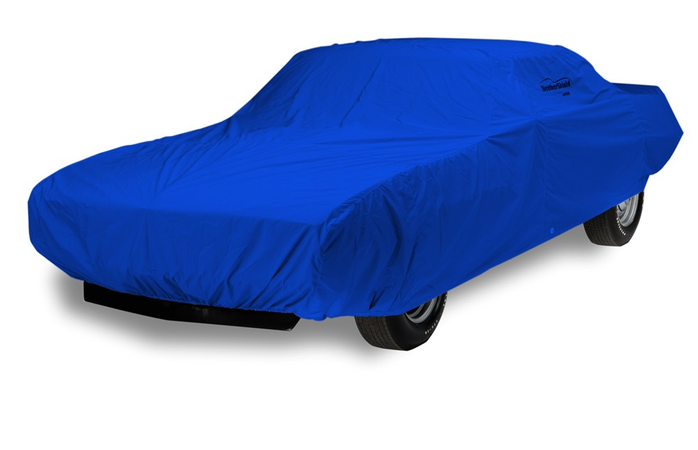 Covercraft WeatherShield HP Custom-Fit Outdoor Vehicle Cover - Bright Blue Best All-Weather Protection C16774PA