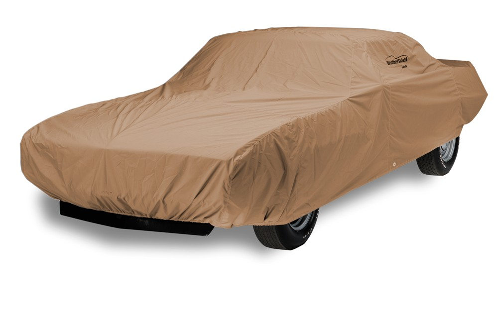 Covercraft WeatherShield HP Custom-Fit Outdoor Vehicle Cover - Taupe Better UV Protection C16846PT