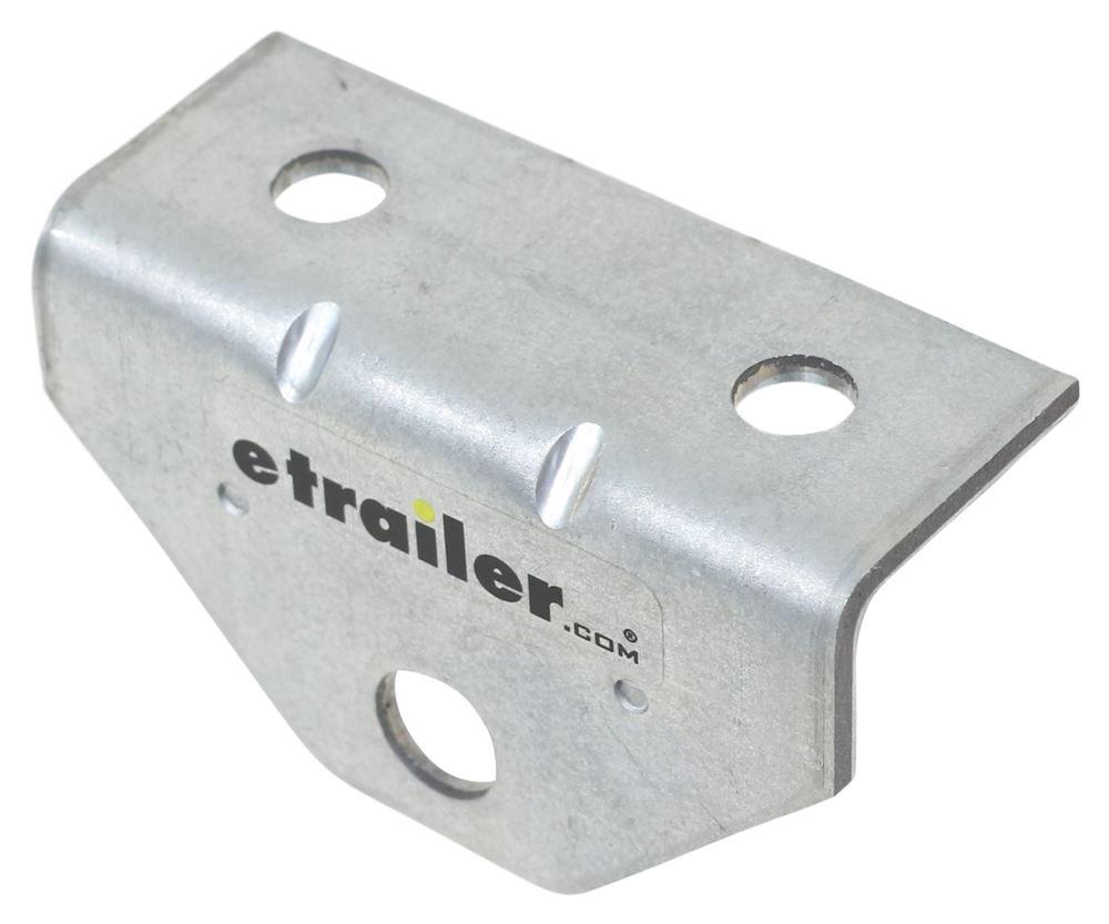 "CE Smith Swivel Bracket for Boat Trailers - Galvanized Steel - 2"" Hole Centers - Qty 1 Swivel Bracket CE10201G"
