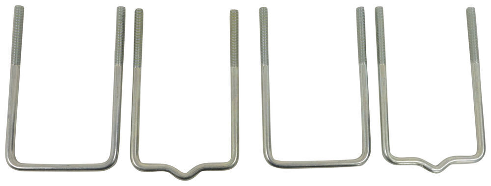 """CE Smith Extra-Long U-Bolt Kit for Boat Trailer Guide-Ons - Pre-Galvanized Steel - 6"""" Tall Hardware CE11416"""
