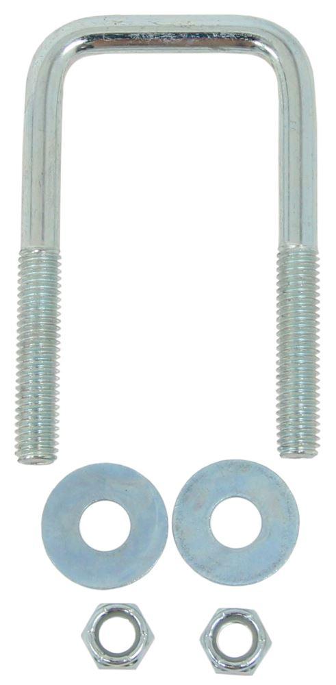 "CE Smith U-Bolt - Zinc-Plated Steel - 4"" Long x 2-1/8"" Wide x 7/16"" Diameter - Qty 1 U-Bolts CE15251A"