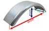 CE Smith Steel Trailer Fenders - CE17701G