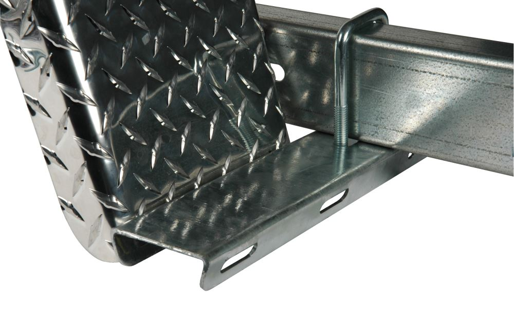 """CE Smith Galvanized Steel Step for 2"""" Trailer Frame - 15-1/4"""" Long x 3"""" Wide 3 Inch Wide CE26212G-15284GA"""