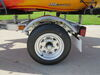 0  trailers ce smith boat trailer 4-1/2w x 12l foot multi sport plus and kayak w/ bunks - 12 inch wheels 14' 800 lbs