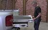 """CargoGlide 1800HD Sliding Tray for Trucks - Heavy Duty - 1,800 lbs - Steel Frame - 8"""" Rail Steel CG1800HD-7548"""