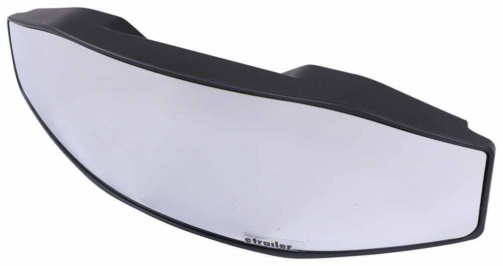 """CIPA Rearview Boat Mirror - Convex Glass - Cup Mount - 18"""" Long x 6"""" Wide 18L x 6W Inch CIP54FR"""