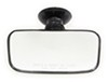 cipa boat mirrors suction 8l x 4w inch rearview mirror - convex glass cup mount 8 long 4 wide