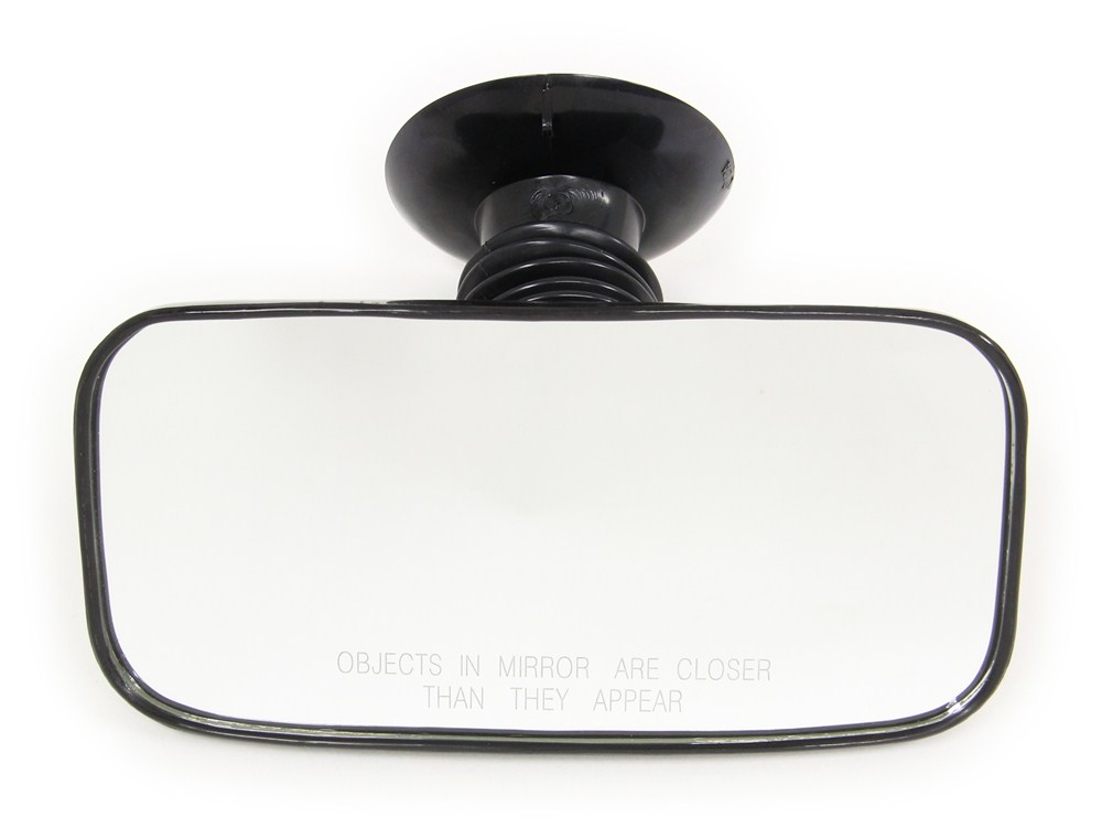 """CIPA Rearview Boat Mirror - Convex Glass - Suction Cup Mount - 8"""" Long x 4"""" Wide 8L x 4W Inch CM11050"""