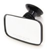 cipa boat mirrors suction rearview mirror - convex glass cup mount 8 inch long x 4 wide