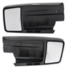 CIPA Custom Towing Mirrors - Slip On - Driver Side and Passenger Side Manual CM11800