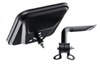 CIPA Replacement Side Mirror for Jeep Wrangler - Black Powder Coated Aluminum - Passenger Side Non-Heated CM44801