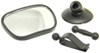 CIPA Dual-View Baby Mirror - Slide or Suction On Clip-On,Suction Cup Mount CM49606
