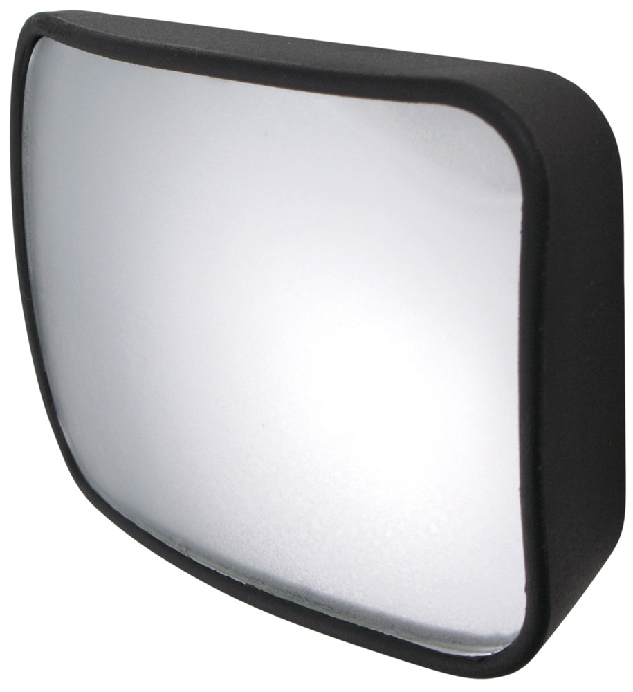 "CIPA Wedge-Shaped, Stick-On HotSpot Mirror - 2-1/2"" x 3-3/4"" - Convex Rectangle CM49702"