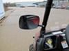 2014 polaris ranger crew 570 atv-utv mirrors cipa utv mirror clamp-on adjustable side - black left hand