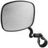 cipa atv-utv mirrors utv mirror clamp-on adjustable side - black left hand