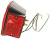 LED Trailer Tail Light - Stop, Tail, Turn, Reflector - Submersible - Red Lens - Passenger Side Red CPL001