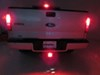 "Brake Light Trailer Hitch Receiver Cover for 2"" Trailer Hitches Square CR-007"