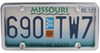 Cruiser License Plates and Frames - CR20130