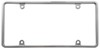 CR21330 - Plain Cruiser License Plates and Frames