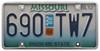 Slim Rim License Plate Frame - Chrome Plain CR21330