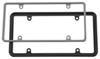 Cruiser Plain License Plates and Frames - CR63350