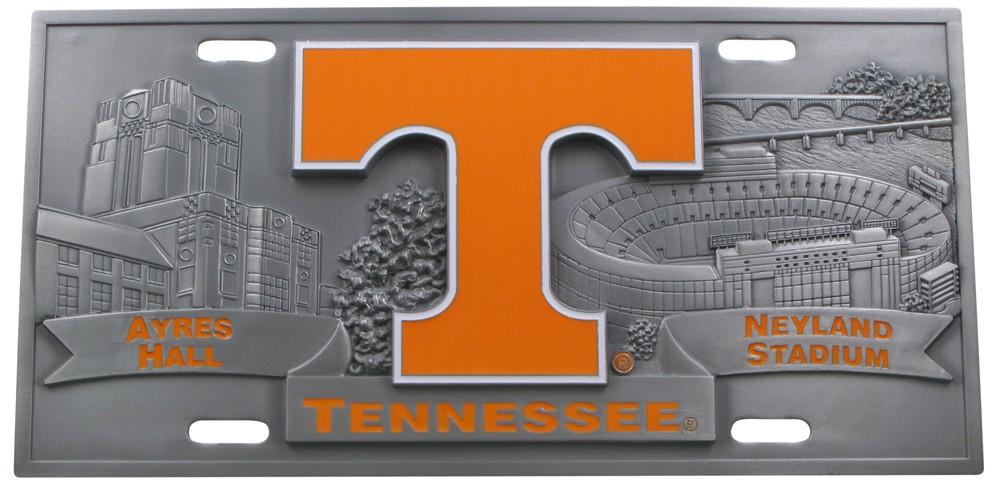 Tennessee Sport Plate - 3D License Plate Collegiate P-T CSP327