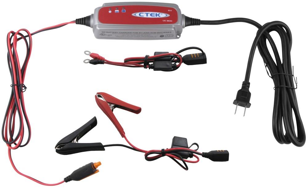 CTEK UC 800 6-Volt Battery Charger w/ Pulse Maintenance 32 Ah CTEK56191
