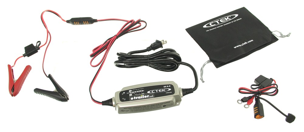 Battery Charger CTEK56865 - Charges/Maintains - CTEK Power Inc