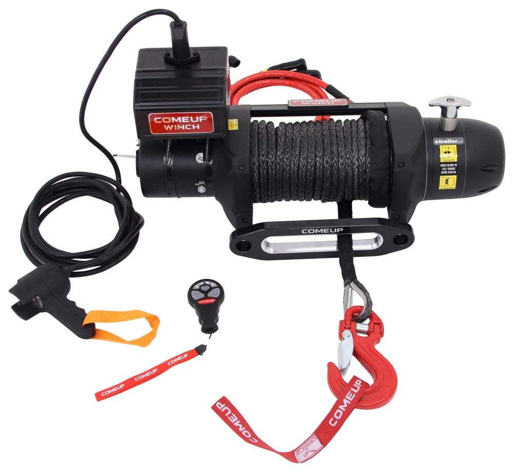 CU295795 - Synthetic Rope ComeUp Truck Winch,Recovery Winch