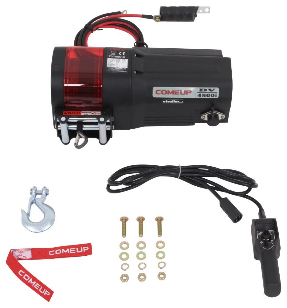 CU644501 - Slow Line Speed ComeUp Car Trailer Winch,Utility Winch