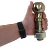 curt trailer hitch ball pintle replacement for securelatch hook - 2-5/16 inch diameter