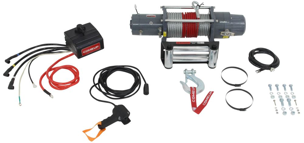 CU850013 - Non-Submersible ComeUp Truck Winch,Recovery Winch