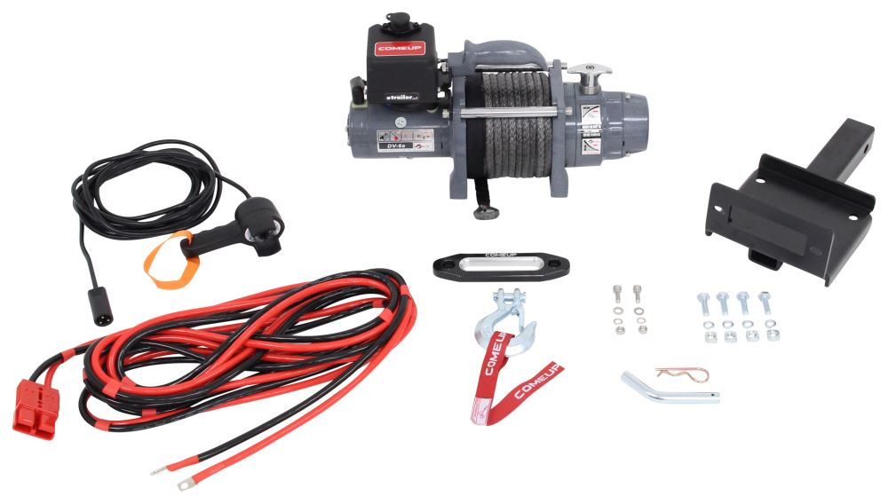 Electric Winch CU854768 - Non-Submersible - ComeUp