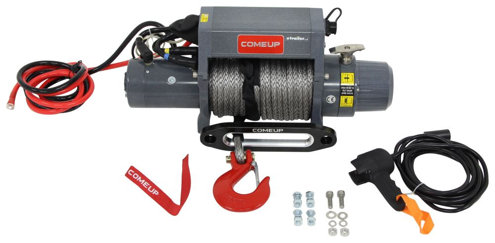 Electric Winch CU859012 - Synthetic Rope - ComeUp