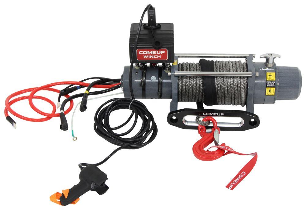 Electric Winch CU859112 - 7800 - 9000 lbs - ComeUp